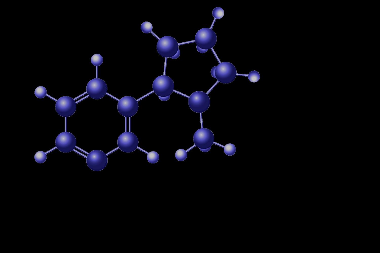 nicotine-molecule-blu